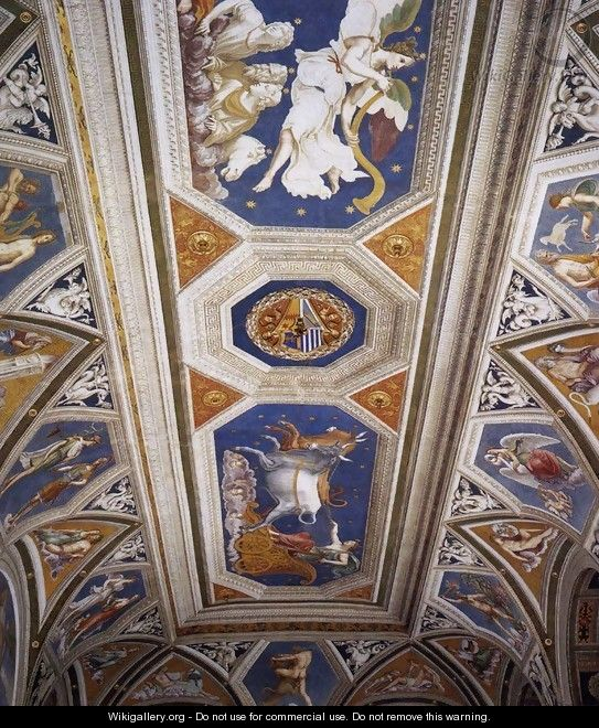 Ceiling decoration - Baldassare Peruzzi