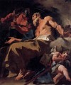 The Torture of St Thomas - Giovanni Battista Pittoni the younger