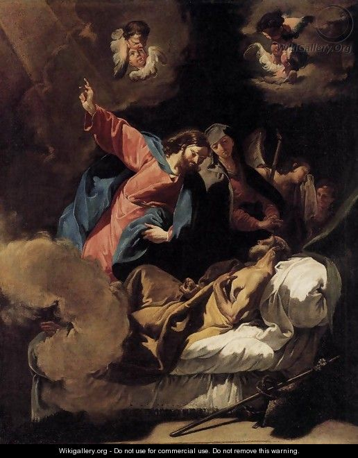 The Death of Joseph - Giovanni Battista Pittoni the younger