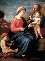Holy Family with the Young St John the Baptist - Piero Di Cosimo