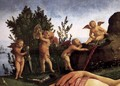 Venus, Mars, and Cupid (detail) 3 - Piero Di Cosimo