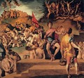 Martyrdom of St Maurice and the Theban Legion - (Jacopo Carucci) Pontormo