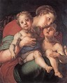 Madonna and Child with the Young St John - (Jacopo Carucci) Pontormo