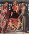 Madonna and Child with Two Saints - (Jacopo Carucci) Pontormo