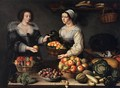 The Fruit and Vegetable Costermonger - Louise Moillon