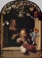 Boy Blowing Bubbles - Frans van Mieris