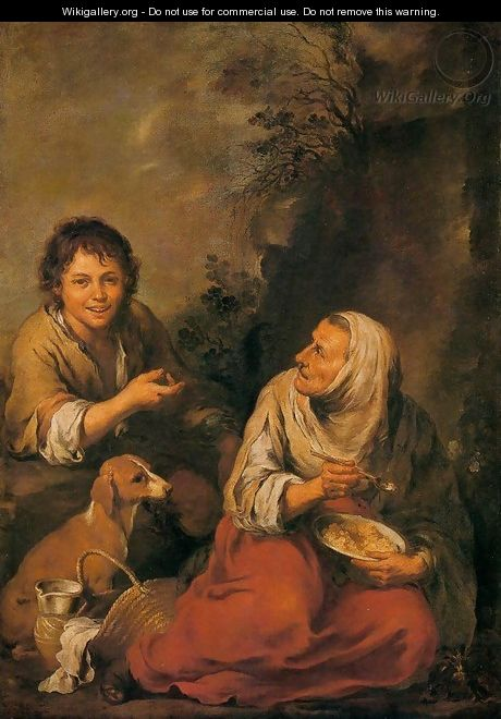 Old Woman and Boy - Bartolome Esteban Murillo
