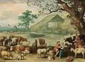 Landscape with Amorous Shepherds - Willem van, the Younger Nieulandt
