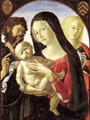 Madonna and Child with St John the Baptist and St Mary Magdalene 2 - Neroccio (Bartolommeo) De' Landi