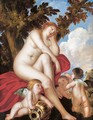 Sleeping Venus with Putti 2 - (Alessandro) Padovanino (Varotari)