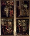 St Wolfgang Altarpiece Scenes from the Life of Christ - Michael Pacher