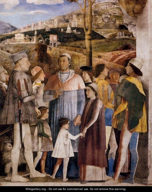 The Meeting (detail) - Andrea Mantegna