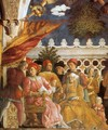 The Court of Gonzaga (detail) - Andrea Mantegna