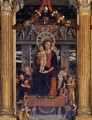 San Zeno Polyptych (central panel) - Andrea Mantegna