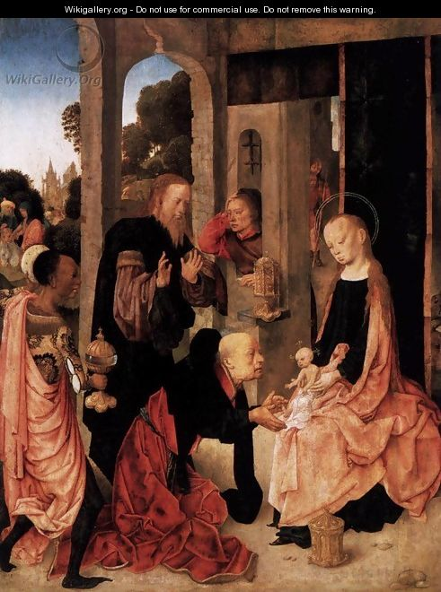 Adoration of the Magi - Master of the Virgo inter Virgines