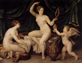 Venus at Her Toilet 2 - Master of the Fontainebleau School