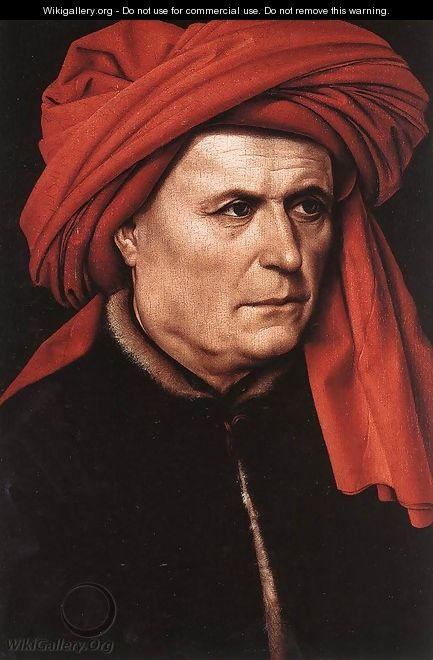 Portrait of a Man 2 - (Robert Campin) Master of Flémalle