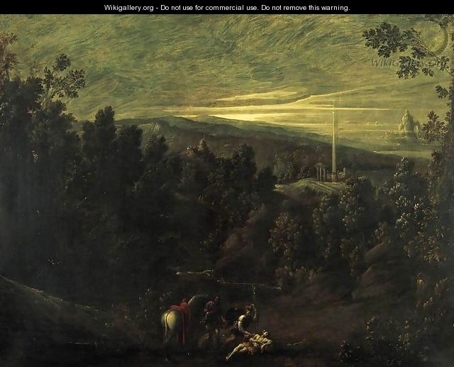 Landscape with the Good Samaritan 2 - Giovanni Andrea Donducci (see MASTELLETTA)