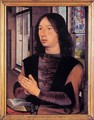 Diptych of Maarten Nieuwenhove (right panel) - Hans Memling