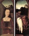 Diptych with the Allegory of True Love - Hans Memling