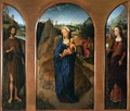 Triptych of the Rest on the Flight into Egypt - Hans Memling