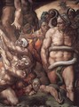 Last Judgment (detail) 16 - Michelangelo Buonarroti