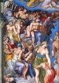 Last Judgment (detail) - Michelangelo Buonarroti