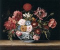Chinese Bowl with Flowers - Jacques Linard