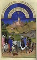 Les tres riches heures du Duc de Berry Aout (August) - Harry J. Pearson