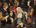 Fortune-Teller with a Fool - Lucas Van Leyden