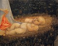 Adoration of the Child with Saints (detail) - Filippino Lippi