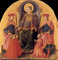 St Lawrence Enthroned with Saints and Donors - Filippino Lippi