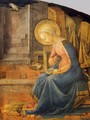 Annunciation (detail) 8 - Filippino Lippi