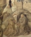 Confirmation of the Carmelite Rule (detail) - Filippino Lippi
