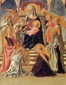 Madonna and Child Enthroned with Saints - Filippino Lippi