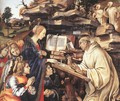 Apparition of The Virgin to St Bernard (detail) - Filippino Lippi