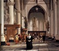 Interior of the Laurenskerk, Rotterdam - Cornelis De Man