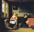 The Naughty Drummer Boy - Nicolaes Maes