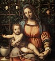 Madonna in the Rose Garden - Bernardino Luini