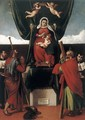 Virgin and Child with Saints - Lorenzo Lotto