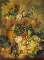 Flowers and Fruit 2 - Jan Van Huysum