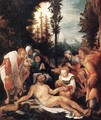 The Lamentation of Christ - Joseph Wolf
