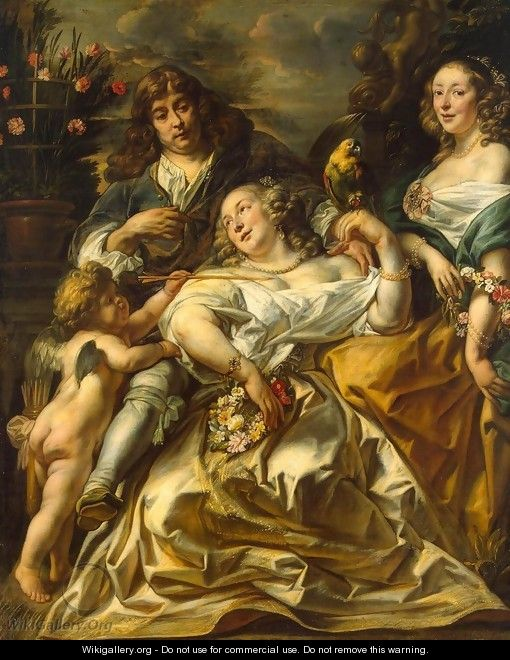 Portrait of a Family - Jacob Jordaens