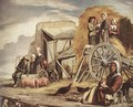 The Cart or Return from Haymaking 2 - Le Nain Brothers
