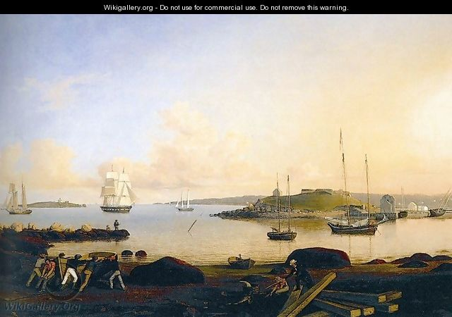 The Island and Fort of Ten Pound, Gloucester - Fitz Hugh Lane