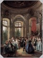Dance in a Pavilion 2 - Nicolas Lancret