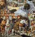 Procession of the Youngest King (detail) - Benozzo di Lese di Sandro Gozzoli