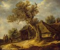 Landscape with Oak - Jan van Goyen