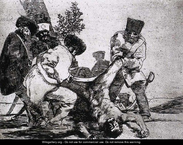 What more can one do 2 - Francisco De Goya y Lucientes