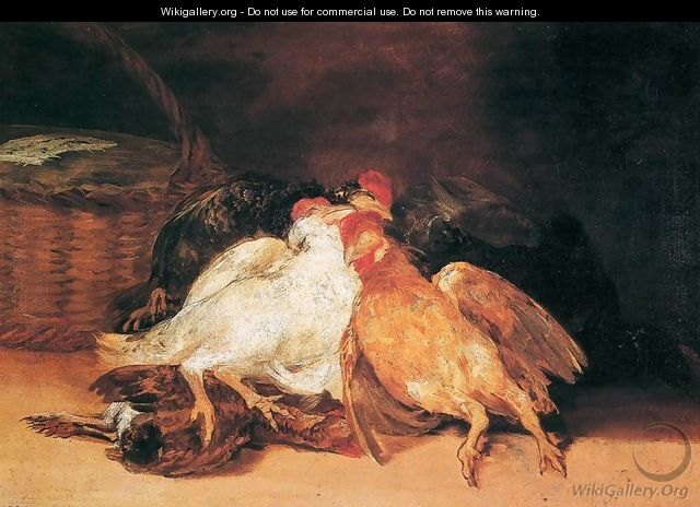 Dead Birds - Francisco De Goya y Lucientes